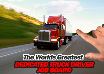 Browse truck driving jobs on our trucking job board!